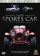 CLASSIC SPORTS CAR COLLECTION Box 9 DVD Documentario in Inglese NEW .cp