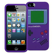 Game Boy Silicone Case for iPhone 6s / 6-purple