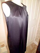 STUNNING TARA JARMON Black 100% Silk Dress UK 10-38 Worn Once