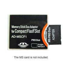 Compact flash CF Type II Adapter AD-MSCF1 Memory Stick Duo Adapter MS
