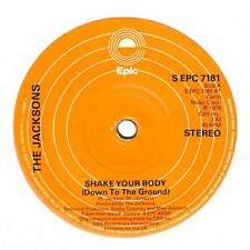 """The Jacksons - Shake Your Body (Down To The Ground) - 7"""" Record Single"""
