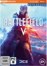 Battlefield 5 V BETA Access + BF 1 Weapon Pack EU/DE EA Origin Download Code Key