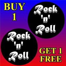 Rock N Roll-Fun coche / la ventana de Sticker + 1 Gratis-Nueva-Regalo / b/day / Navidad