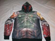 Boba Fett Armor Star Wars Hoodie Adult Small NWT Jacket Costume Cos-Play