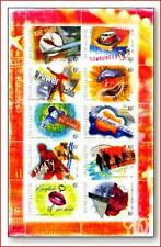 AUS0106 Roc and Roll Music in Australia 10 stamps in sheet