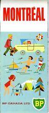 1966 BP Canada Road Map: Montreal NOS