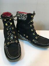 Sperry Top Sider Leopard Stiefel for Damens     Damens  42e3a1