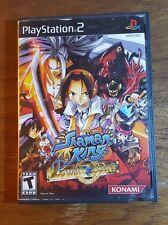 Shaman King, PlayStation 2, Power of Spirit, Konami, rated Teen