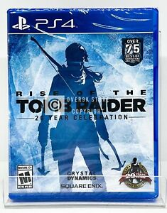 Rise of The Tomb Raider 20 Year Celebration - PS4 - Brand new | Factory Sealed