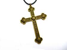 Großes Kreuz Kruzifix Christus Kettenanhänger Jesus Anhänger Halskette 7,5 x 5,5