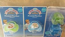 New 4 BABY KING 0+ Soft Silicone Pacifier, BPA FREE, lot of 4, FREE COVERS