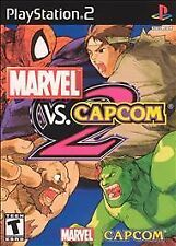 RARE MARVEL VS. CAPCOM 2 Playstation 2 game COMPLETE! CIB PS2 FREE SHIPPING!
