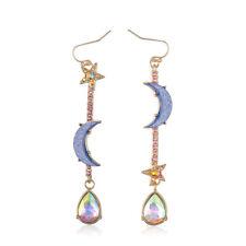 Sailor Moon Drop Earrings Stars Tassel Long Dangle Earrings Jewelry For Women 2X