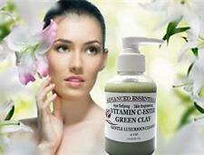 VITAMIN C-ESTER ITALIAN GREEN CLAY FACIAL CLEANSER BRIGHTENING ANTI-AGING 4OZ