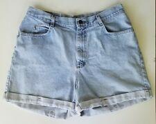 Shorts Lee Riders Vintage Denim High Waist Denim Jean Mom Women's Size 18 Light