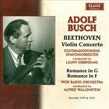 Adolf Busch Plays Beethoven 1942 & 49, New Music