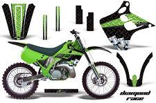 KAWASAKI KX 125/250 Graphic Kit AMR Racing Decal Sticker KX125 KX250 90-91 DR G