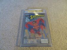 Superman The Man Of Steel #1 CGC SS 9.8 Louise Simonson & Bob Mcleod 1991 DC