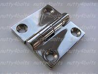 HEAVY-DUTY-STAINLESS STEEL BUTT HINGE 50mm A4- 316 MARINE BOAT DOOR HINGE