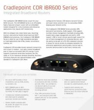 Cradlepoint IBR600LP-AT-PWD Integrated Broadban Router 3G/4G Wi-Fi Modem