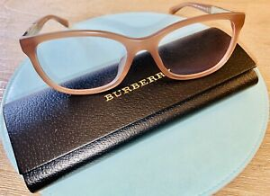 Women's Burberry Reading Glasses  Amber Brown