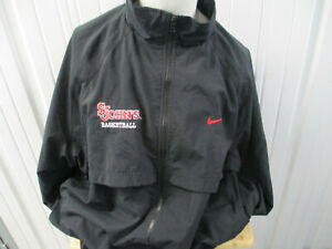VINTAGE NIKE ST. JOHN'S RED STORM BASKETBALL TEAM ISSUE 3XL SEWN JACKET PREOWNED