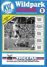 BL 89/90 Karlsruher SC - Borussia Mönchengladbach, 19.09.1989
