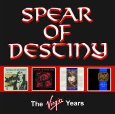 Spear Of Destiny - The Virgin Years NEW  4 CD'S
