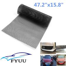 "47.2""x15.8"" Universal Black Rhombus Aluminium Racing Car Tuning Grille Mesh Vent"