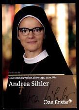 Andrea Sihler Um Himmels willen Autogrammkarte Original Signiert ## BC 52002