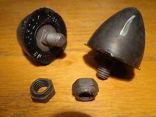 66-76 Mopar A B E Body Cuda GTX Dart NOS Upper Control Arm Bumpers & OEM Nuts