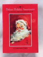 Vintage American Greetings Deluxe Christmas Cards - set of 32 Cards & Envelopes