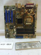 -  Asus P4S533-MX Motherboard W/Intel Pentium 4 2.8GHz CPU & I/O Shield