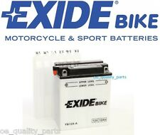 NEW STARTER BATTERY 160/80/134 165A 12AH 12V L+ YB12A-A MOTORCYCLE MOTORBIKE