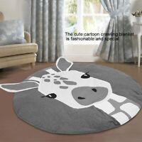 Baby Crawling Puzzle Mat Soft Kid Play Carpet Home Floor Blanket Giraffe Cushion