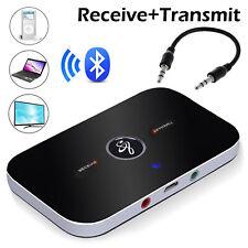 Bluetooth Transmitter Receiver Wireless A2DP Audio 3.5mm Aux Adapter Converter
