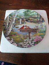 "Bradford Exchange Collectors Plate ""Springtime Friends"" #17130A.1993"