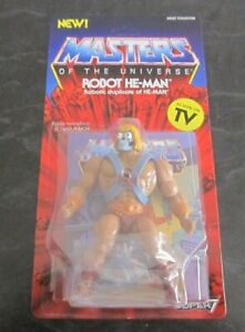 MASTERS OF THE UNIVERSE Super7 He-Man Robot 5 1/2 Inch Figure