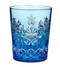 New listing Waterford Snowflake 2013 Wishes Goodwill Light Blue Double Old Fashioned Dof New