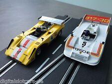 Carrera digital 132 30549 + 30654 lola t222 Orwell + Porsche 917/30 nuevo