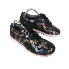 Alegria Essence ESS-557 Sneakers Shoes Women's 8.5 - 9 Leather Floral Lace Up 39