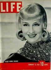 LIFE MAGAZINE FEBRUARY 13 1939