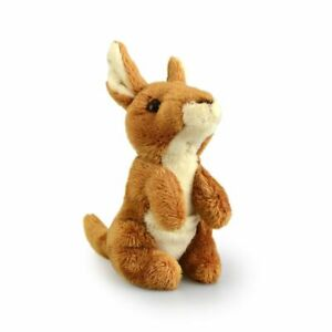Lil Friends 15cm Kangaroo Kids/Children/Toddler Soft Plush Toy Brown 3y+