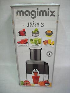 Magimix Juice Expert 3 - Multifunktionsentsafter - 18082F - Chrom Matt/Schwarz