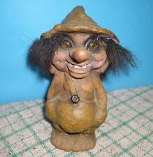 Troll nyform da collezione originale norvegia anni 90 h cm 15