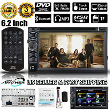 """Us 6.2"""" Double Din Car Stereo Dvd Player Radio Bluetooth for Chevrolet Silverado(Fits: Whippet)"""