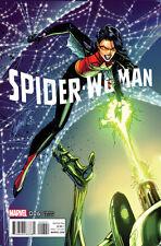 J SCOTT CAMPBELL VARIANT SPIDER-WOMAN #6 GWEN SILK CROSSOVER MARVEL COMICS