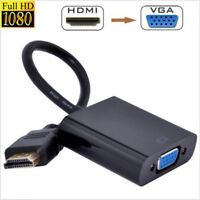 High Speed HDMI to VGA Converter Cable (Male to Female) For Laptop, PC, Monitor