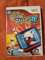 Rayman Raving Rabbids: TV Party (Nintendo Wii, 2008) - Complete TESTED AND WORKS