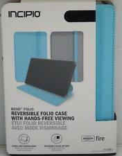 Amazon Kindle Fire HD 7 4th GEN Incipio doblar Reversible Folio Estuche Azul 2014